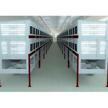 Механизированные кролефермы закрытого типа с заданным микроклиматом